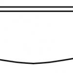 """Sienna Rope Valance 48""""W 4 5/8"""" H"""